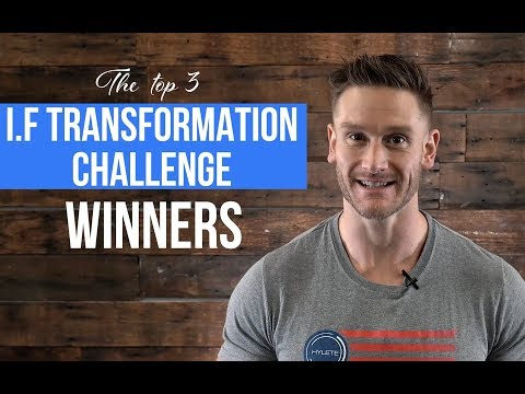 The Winners Of The 30-Day SBSP Transformation Challenge Are...