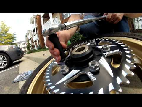 How To Change Sprockets on a 2006-2009 Yamaha R6