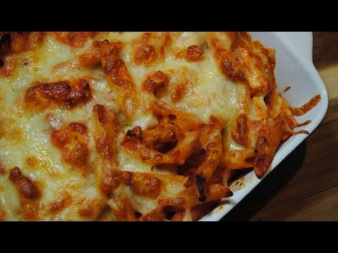CHICKEN MOZZARELLA PASTABAKE - Student Recipe