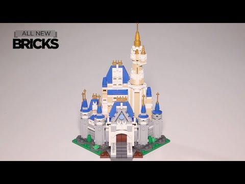 Lego Mini Disney Castle Speed Build by Build Better Bricks