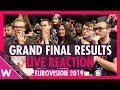 Eurovision 2019 Live Reaction To Grand Final Results Wiwibloggs