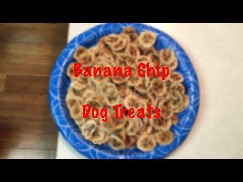 Banana Chip Dog Treats