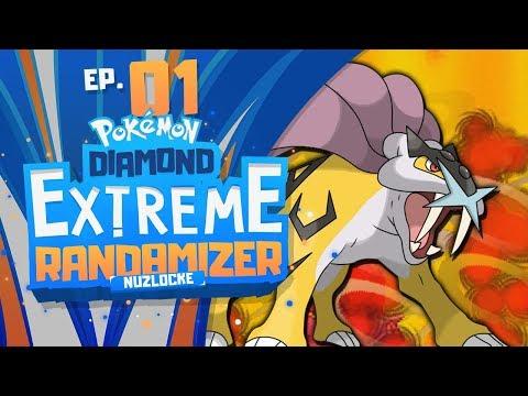 OUR BEST STARTER YET!?! | Pokemon Diamond EXTREME Randomizer Nuzlocke Part 1