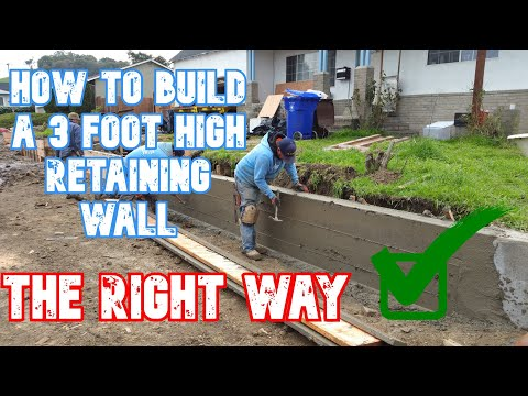Building A Retaining Wall From Start to Finish San Francisco Bay Area