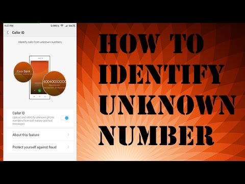 How To Identify Unknown Number I EASY WAY I