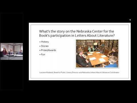 NCompass Live: Letters About Literature: Read. Be Inspired. Write Back.