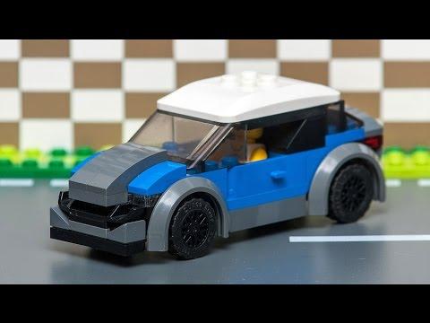 LEGO how to build STREET RACER CAR moc.