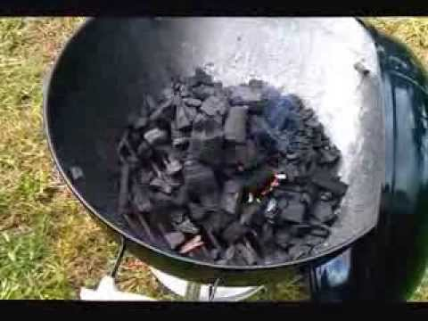 How to light up a charcoal grill without lighter fluid