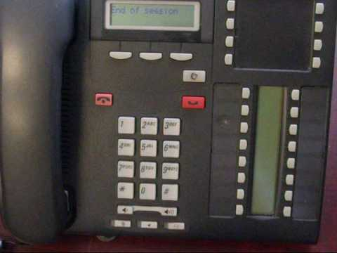 Nortel Phone - Time Change on Newer Norstar Phone