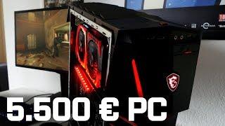 5.500 EURO PC - MSI Aegis Ti3 mit zwei Geforce GTX 1080 Ti