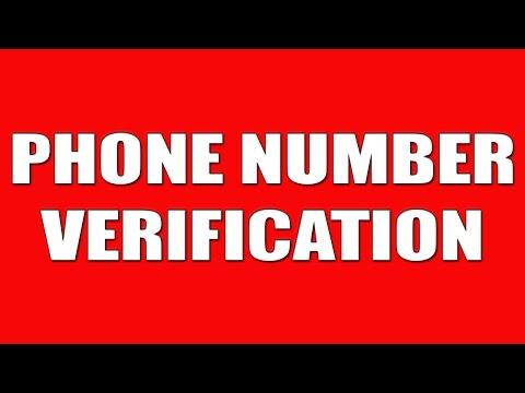 MOBILE NUMBER VERIFICATION [Google,Facebook,YT,Twitter,etc]