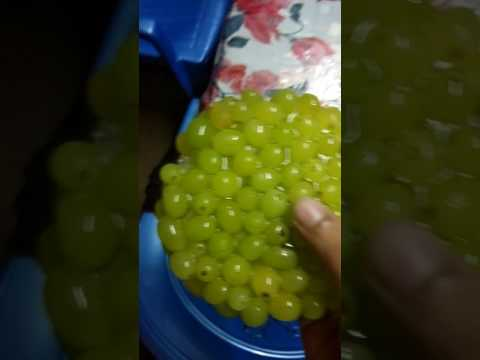 What happens when you freeze grapes.