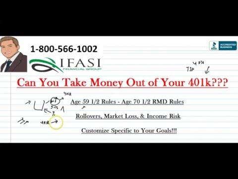 Can You Take Money Out of Your 401k - How Can You Take Money Out of Your 401k
