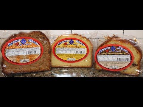American Classic Gourmet Pound Cake: Carrot, Original & Chocolate Chip Review