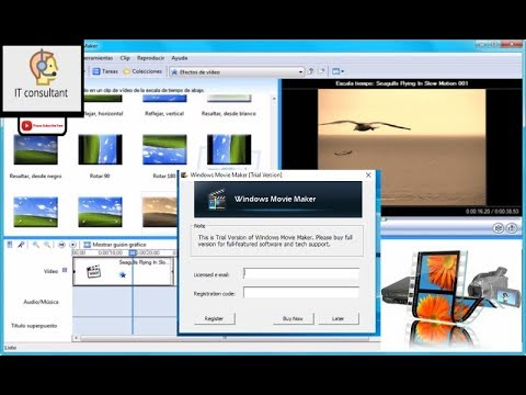 how can use movie maker software without license email and registration cod