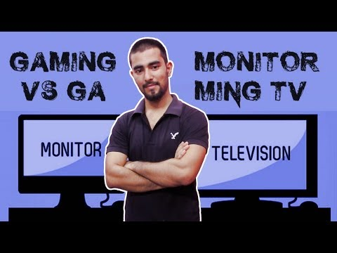 TV vs Monitors Which One To Choose For Gaming ? (Hindi)