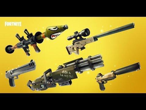 ALL LEGENDARY Backpack! - Fortnite Battle Royale Solid Gold Gamemode Livestream!