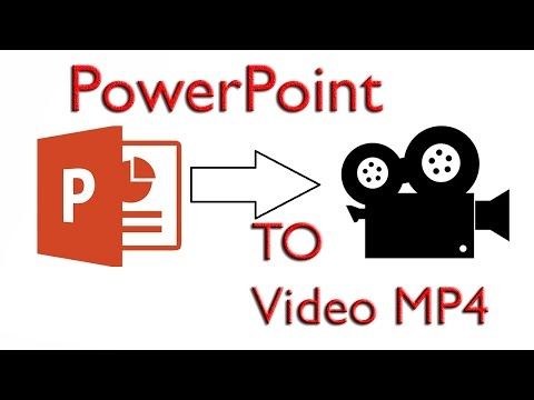 How to save PowerPoint ppt in video | Marathi