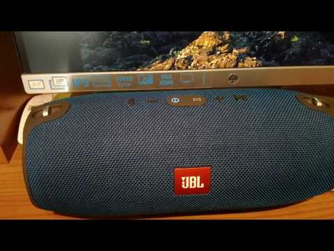 JBL XTREME RESET AND SECRET MODE