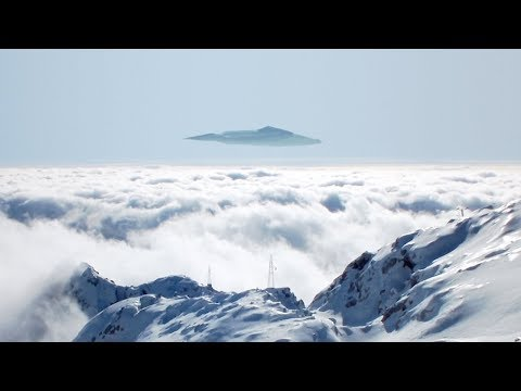 Huge UFO over the mountains of AUSTRIA !!! March 2018
