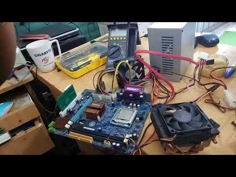 How to Repair desktop Motherboard  no power   Bangla