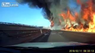 LPG fire