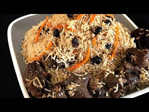 How To Make Kabuli Pulao / Afghani Pulao / Kabli Pulao (Afghanistan) Eid Special (English Subtitles)