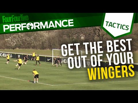 How to get the best out of your wingers | Soccer drill | Tactics | Nike Academy