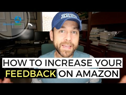 How to Increase Your Feedback Rating Selling Books on Amazon FBA