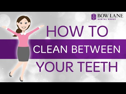How To Clean Between Your Teeth