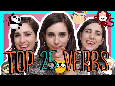Learn the Top 25 Must-Know Spanish Verbs!