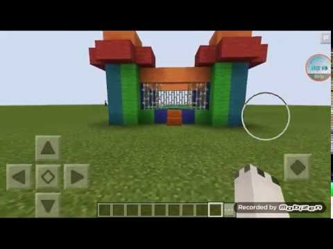 How To Make a Bouncy Castle| Minecraft PE