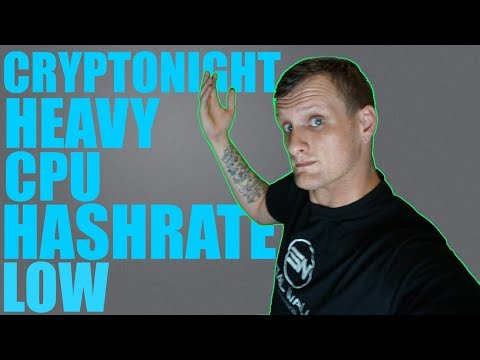 Why Your CPU Hashrate is Low on Cryptonight Heavy Fork