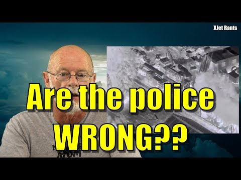 Rant: New Zealand police run from drone (hysteria alert)