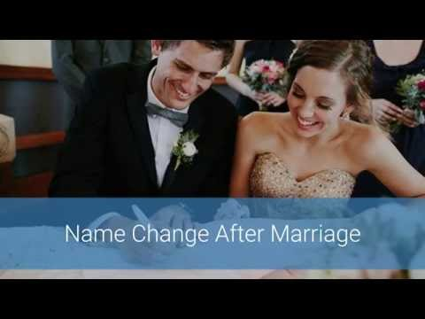 Name Change After Marriage Video