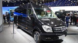 2017 Mercedes-Benz Sprinter 519 CDi VIP Shuttle Senzatti - Exterior &  Interior - IAA Hannover 2016