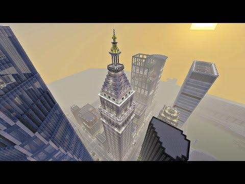 Old Met Life Building Inspired Skyscraper + SHOUTOUTS (Minecraft Xbox)