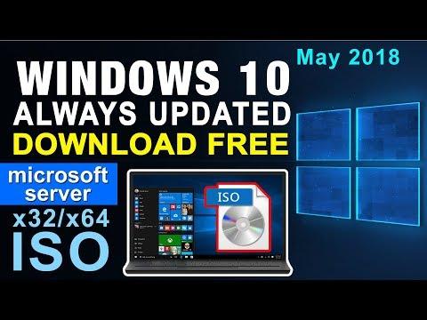 Windows 10 Download Always Updated Version x32/x64 Bootable ISO