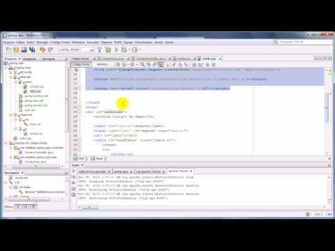 Spring MVC & Ajax JQuery - Parte 6 (jQuery load)