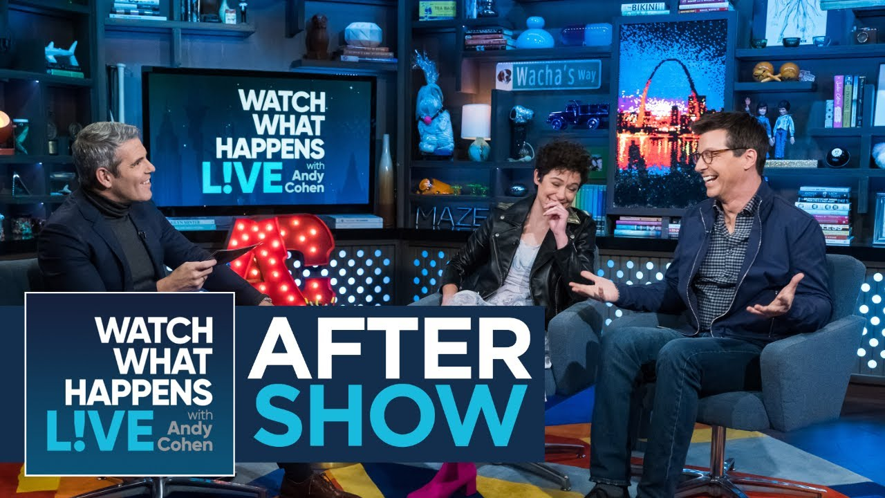 After Show: Sean Hayes' Embarrassing Moment With Jack Nicholson And Morgan Freeman | WWHL