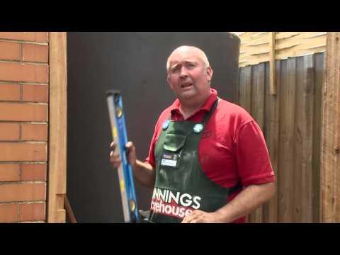 How To Build A Timber Screen - DIY At Bunnings