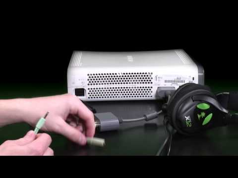 How To Connect Your Turtle Beach Stereo Headset to Xbox 360