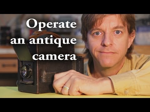 How to operate an old camera, and the results