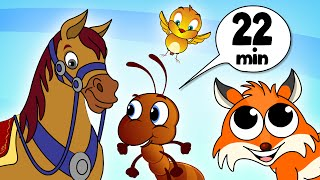 Animals Compiled Nursery Rhymes - Chellame Chellam - Cartoon/Animated Tamil Rhymes Kutty Chutties