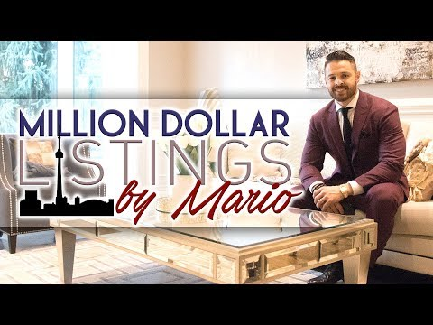 Million Dollar Listings by Mario! Luxury Homes in Toronto!