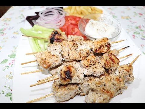How To Make Lebanese Shish Tawook (Chicken Kebab) / Cook With Z