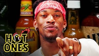 Download Jimmy Butler Goes Rocky Balboa on Spicy Wings | Hot Ones Video