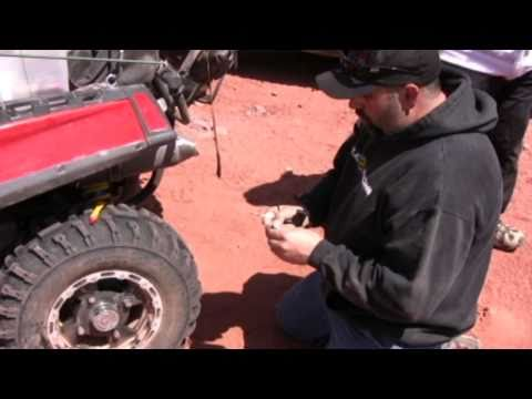 ATV Tire Repair - How to plug an ATV tire or UTV tire