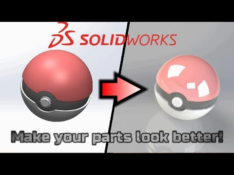 How to Make Parts Look Good in SolidWorks Without RealView Graphics!