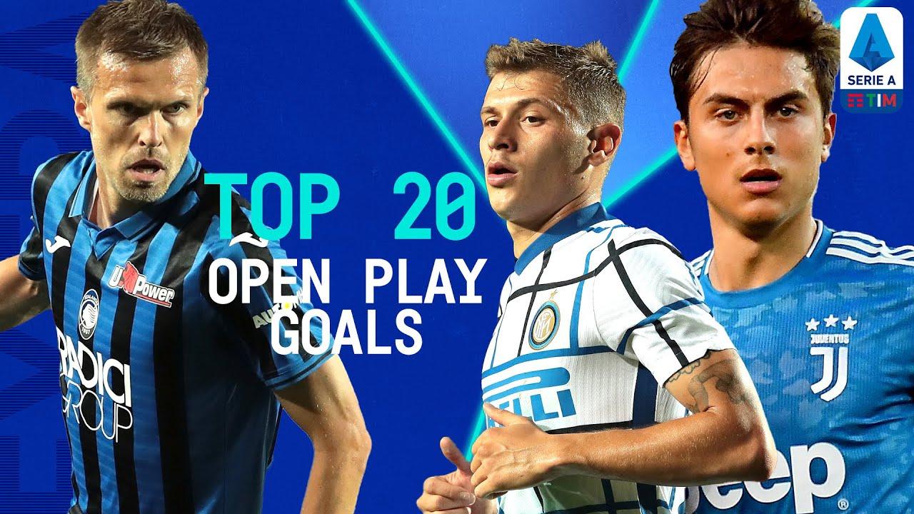 Top 20 Open Play Goals   Season 2019/20   Serie A Extra   Serie A TIM